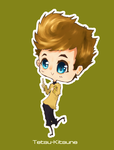 Kirk chibi by Captain-By-Moonlight