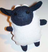 Felt Handmade Sheep Lamb Plush by Ana-Panda