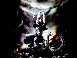 Frazetta Wallpaper by Ranx-88