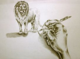 Lion Creation by 128Bray