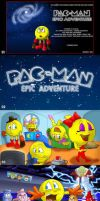 Pac-Man Original 2010 Fanfic Artworks. by Atariboy2600