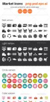 Market Icons by ottoson