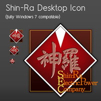 ShinRa Desktop Icon by gas01ine