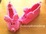 Lil Pigs - Slippers by Ficklephonebug