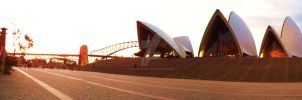 Sydney in the evening by Sydney0007