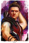 Hawkeye (Avengers collection) by j2Artist