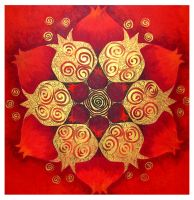 Red Mandala by RikiSegal