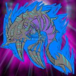 YGO LD! Darkmoon Dragon Aokujira by ArkaDark