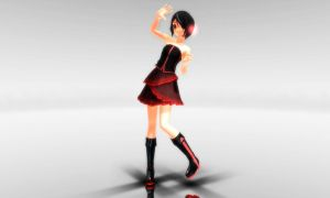 MMD Clara Night Dress DL by Teren000