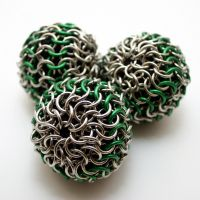 Juggling Balls - Set of Green by Utopia-Armoury