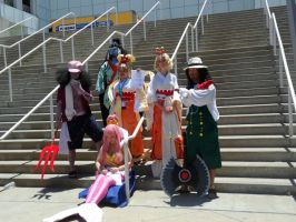 Anime Expo One Piece Gathering 9 by DelphiniumFleur