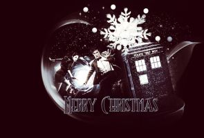 Dr.Who Merry Christmas by Miss-deviantE