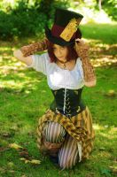 Steampunk hatter by mr-neko-juanito