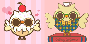 Owls by pronouncedyou
