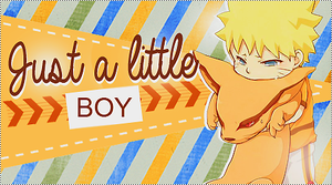 Just a little boy by chesterina