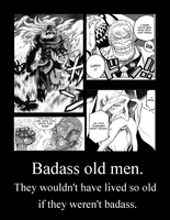 Badass old men. by Kalduin