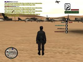 playing Gta San Andreas Multiplayer by felipe1355