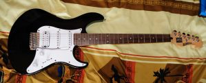 My first electric guitar by Seth890603