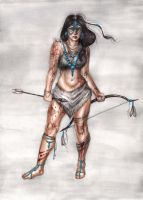 Turquoise Huntress Design by Carliihde