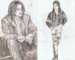 MJ Sketches by Meggy-MJJ