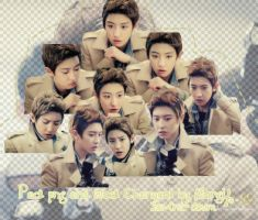 PACK PNG #11 ( Chanyeol EXO) by JenniferMorgy1998