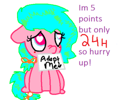 5 POINTS ADOPTABlE CLOSED! by cottoncloudyfilly