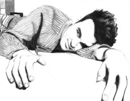 Morrissey of The Smiths by IchBinMaui