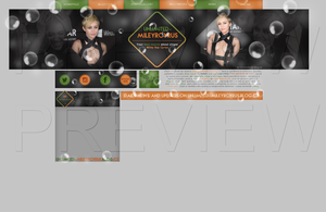 Ordered design ft. Miley Cyrus by Helcabu