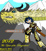 Year of the DRAGONBORN by Firewarrior117