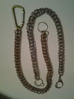 Rope Chain mail 16 to 18 inches by howardhowitzer