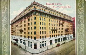 Vintage San Francisco - Palace Hotel by Yesterdays-Paper