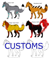 Wolf Adopts CLOSED by Thunder113377