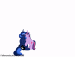 Animation: Luna x Twilight w/inflation kiss by fallenandscattered