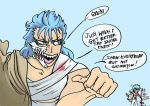 Grimmjow rants! by mdragonheartlove