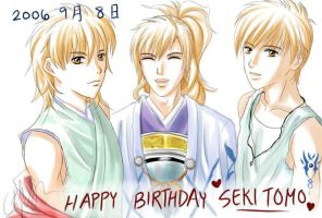 +HAPPY BIRTHDAY SEKI TOMOKAZU+ by Asaphira