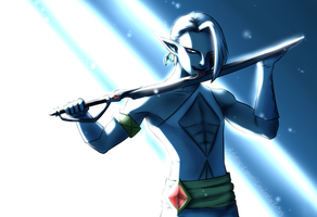 Ghirahim Art trade by Astatos-Luna