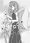 Sincerity w lilies screentone by chibialex