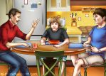 Two and a Half Men - Finished by aj-chan
