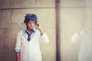 Aomine Daiki Teiko School Uniform by Playitlikearainbows