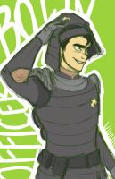 Officer Bolin by vvivaa