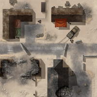 Holy: Dust Town Map by Blazbaros