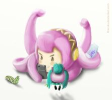 In which Tako Luka and her doll go bug hunting by FiRez-DA
