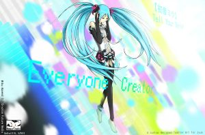 Miku Append - Everyone Creator by Cattai1113