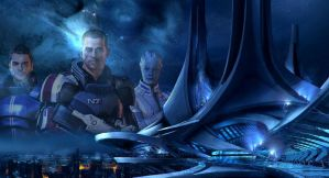 Mass Effect 3 Wallpaper by GRM327