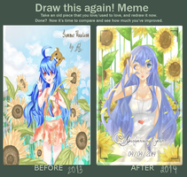 Draw agin meme 2013-2014 by SecertScalet