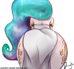 Humanized Sunbutt by Dragk