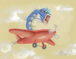 Gyarados are part Flying by UmiKit