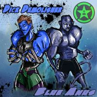 Achievement Hunter - Michael and Gavin WWE 2k14 by RushLightInvader