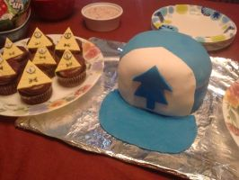 Gravity Falls Cakes by Imaplatypus
