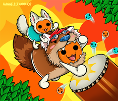Taiko no Tatsujin -collab- by MacGreen